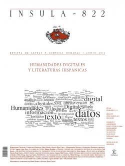 Humanidades digitales y literaturas hispánicas